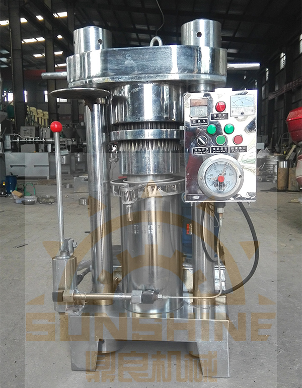 6yz-180 Oil Expeller Hydraulic Olive Oil Extraction Machine Oil Press