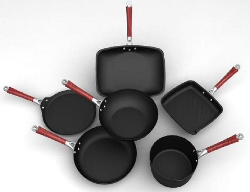 Cookware Set, High Heat Resistance and Non-Stick Coating