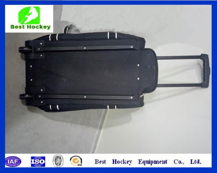 Heavy Duty Double Zippers Wheeled Ice Hockey Bags