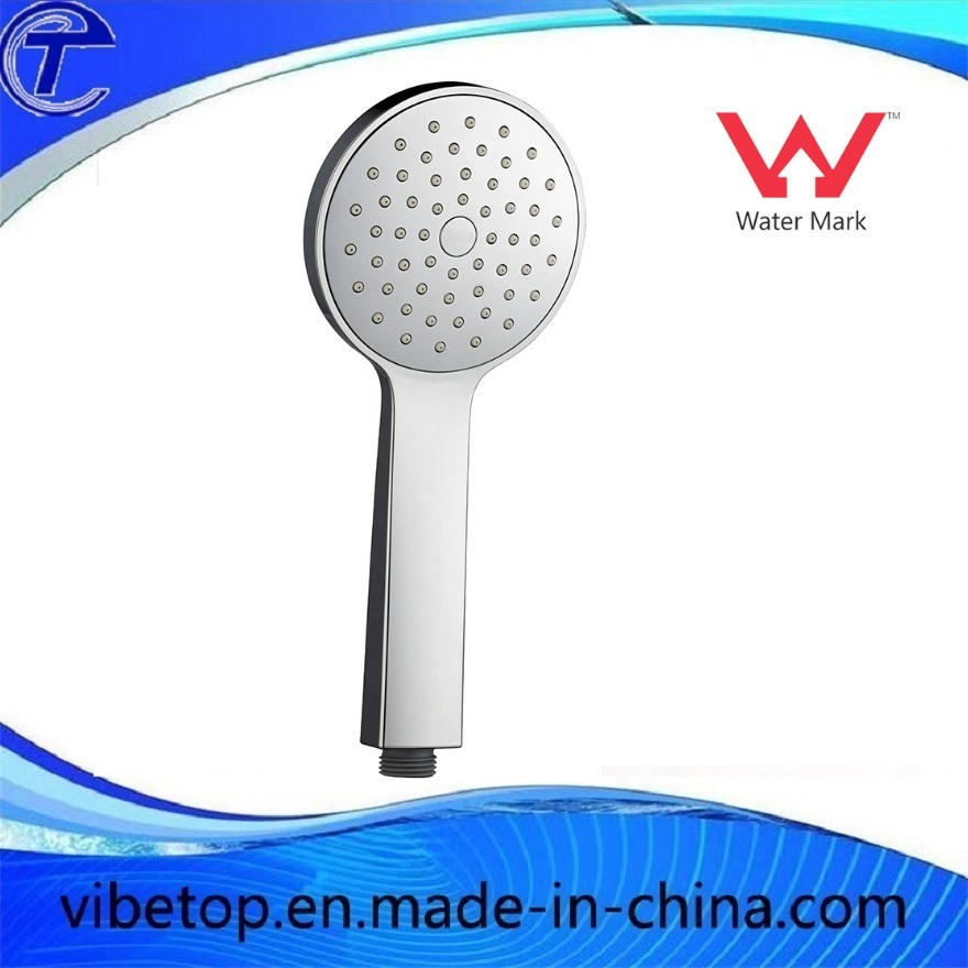 Watermark 3 Pattern Sprayer ABS Rainfall Hand Held Shower Head Rose Chrome Wels