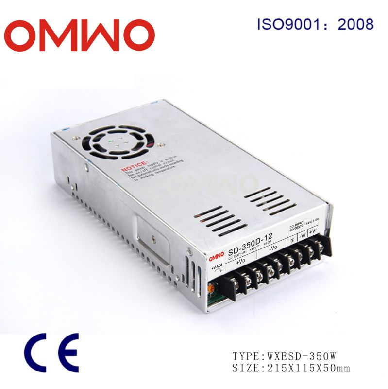 350W 48V Single Output DC DC Converter