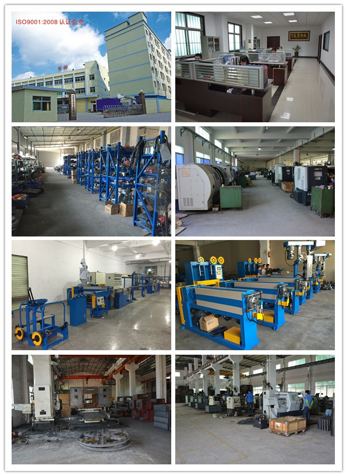 High Quality Cat5 and CAT6 Cable Extruder Machine