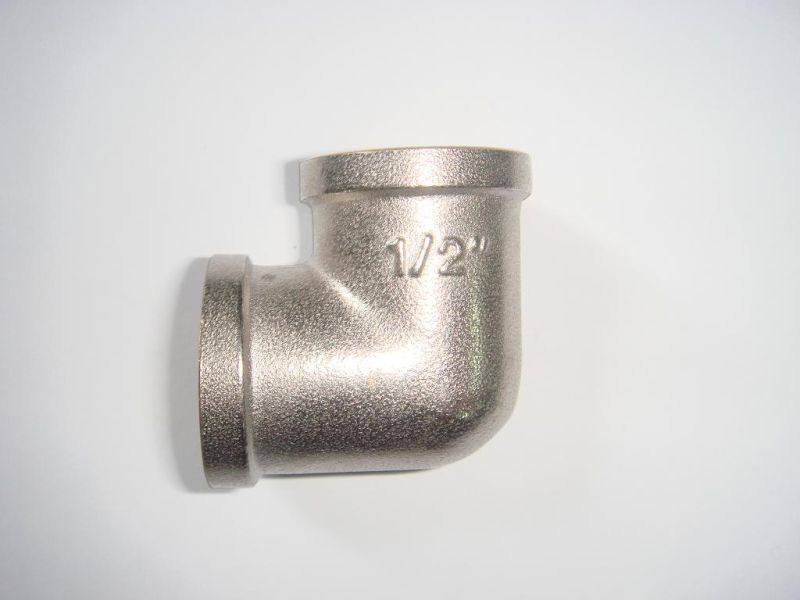 Equal Elbow F/F (I) of Screw Fittings with Brass Yellow, or Nickle-Plated, Polish-Chromed
