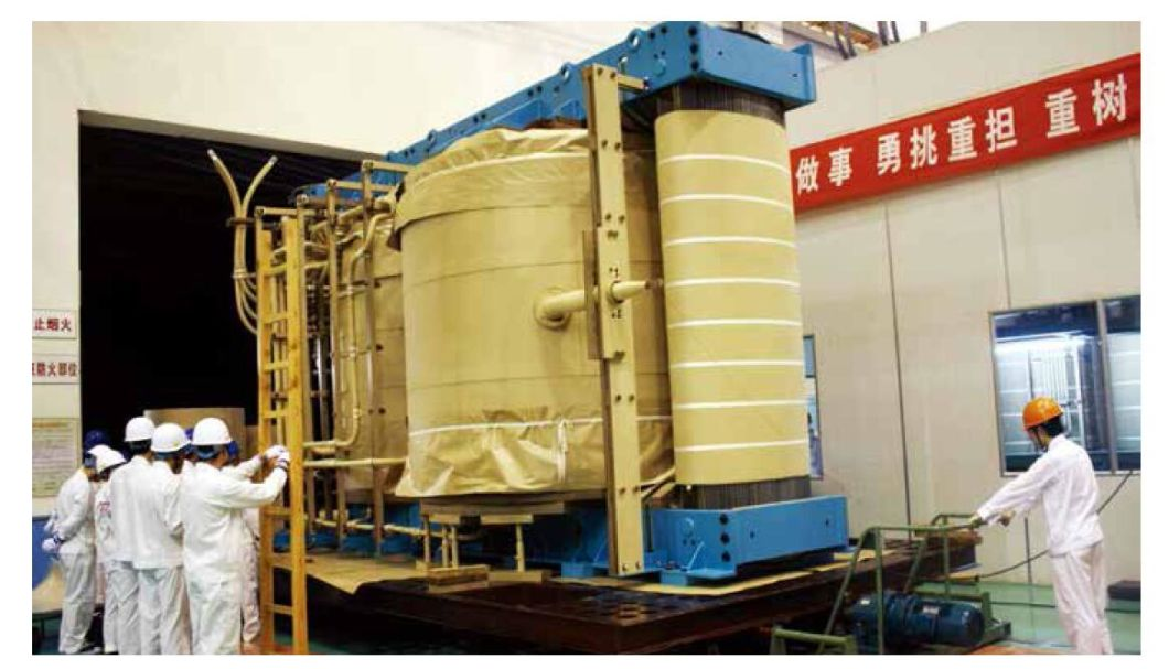500kv Oil-Immersed Three-Phase Dual Winding Power Transformer 100mva to 840mva