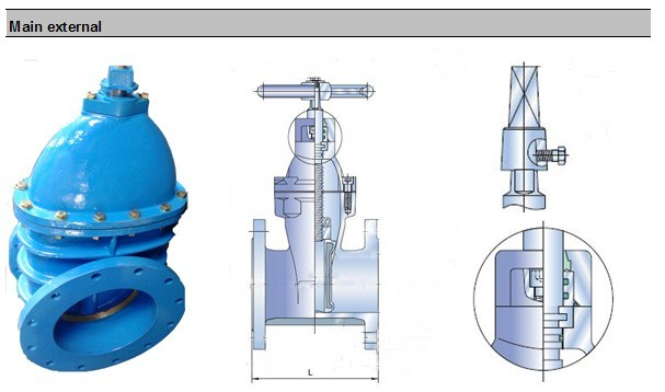 Ductile Iron Body Gate Valve (Z45H)