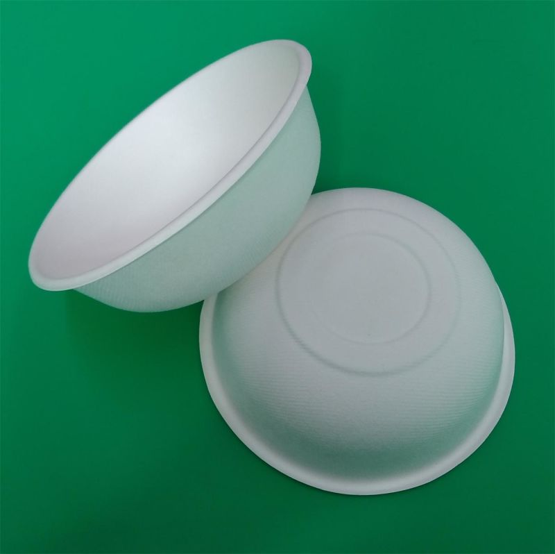 Eco-Friendly Biodegradable Sugarcane Pulp Paper Bowl