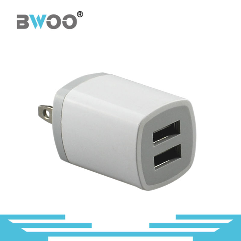 Wholesale Dual USB Adapter Mobile Wall Charger
