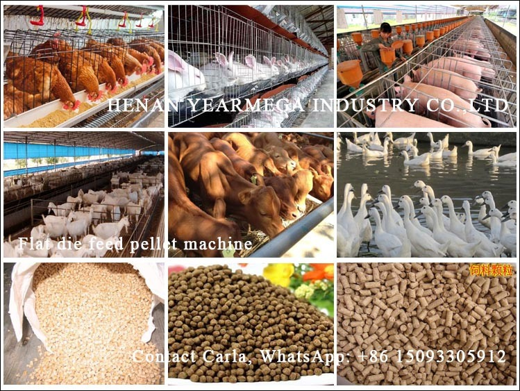 Automatic Operation Hot Sell Animal Feed Granulator with Good Price