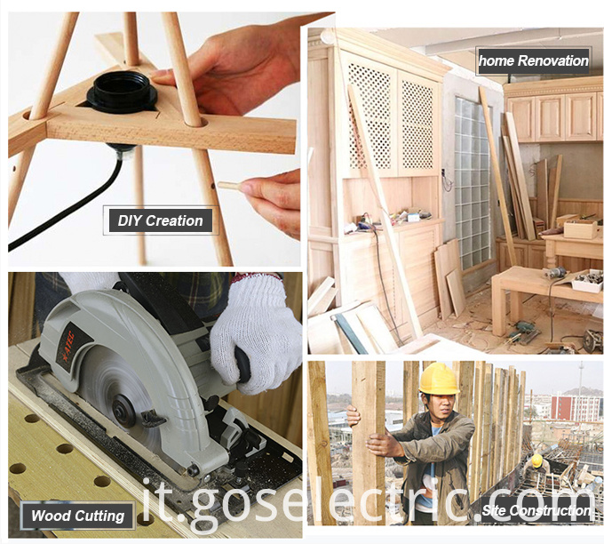600W 65mm Electric Power Tools Wood Jig Saw (AT7865)
