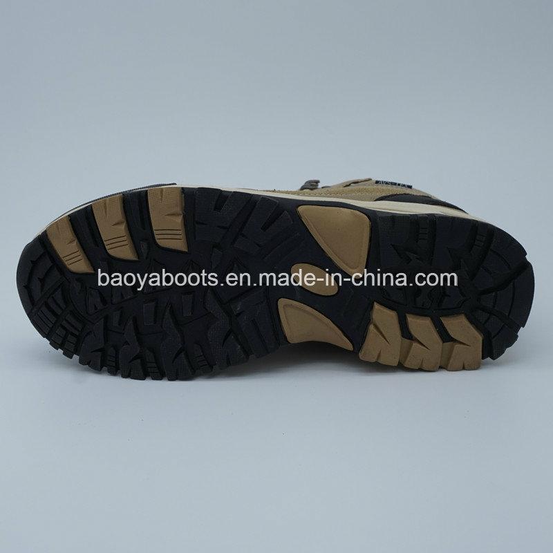 Genuine Leather Men Outdoor Footwear Sports Hiking Waterproof Shoes