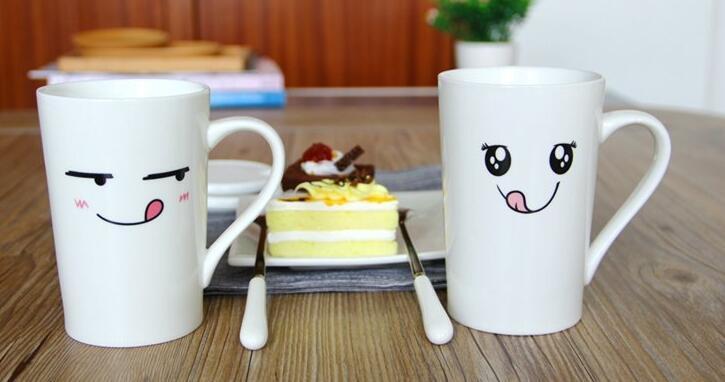11 Oz Sublimation Mug Couple Mug Promotional Sublimation Ceramic Mug