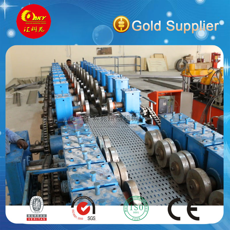 Hky Full Automatic Adjustable Steel Cable Tray Making Machine