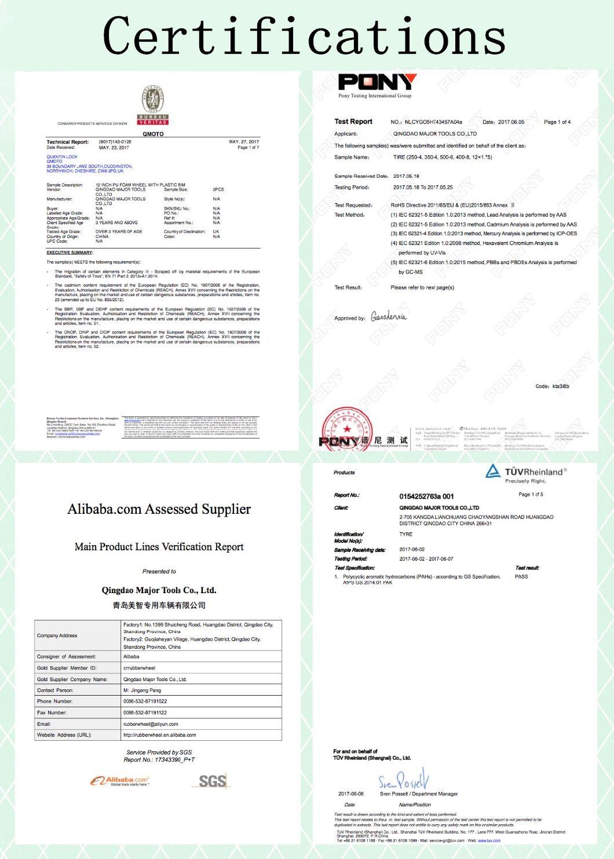 High Quality Durable Cheapest PU Foam Wheel (500-6)