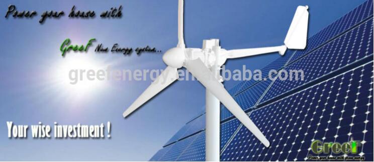 10kw Solar Wind Hybrid System