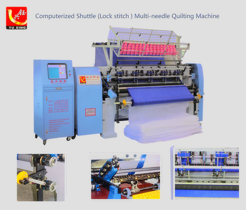 Computer Shuttle (Lock Stitch) Multi-Needle Quiting Machine (YXS-64-2B)