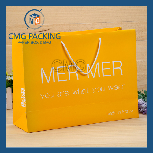 Colored Scarf Packing Bag with Logo Printing (CMG-MAY-046)