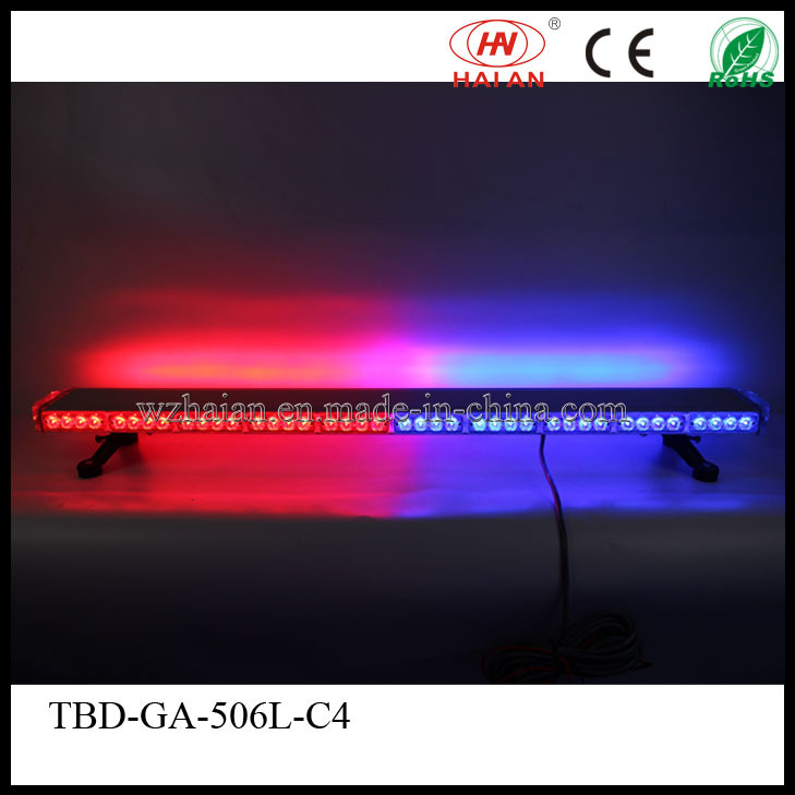 Aluminum Dome Red Blue LED Lightbar for Police