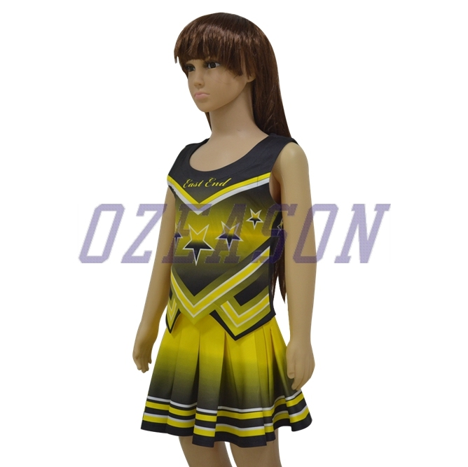 Team Full Dye Sublimation Uniforms for Cheerleading Uniforms