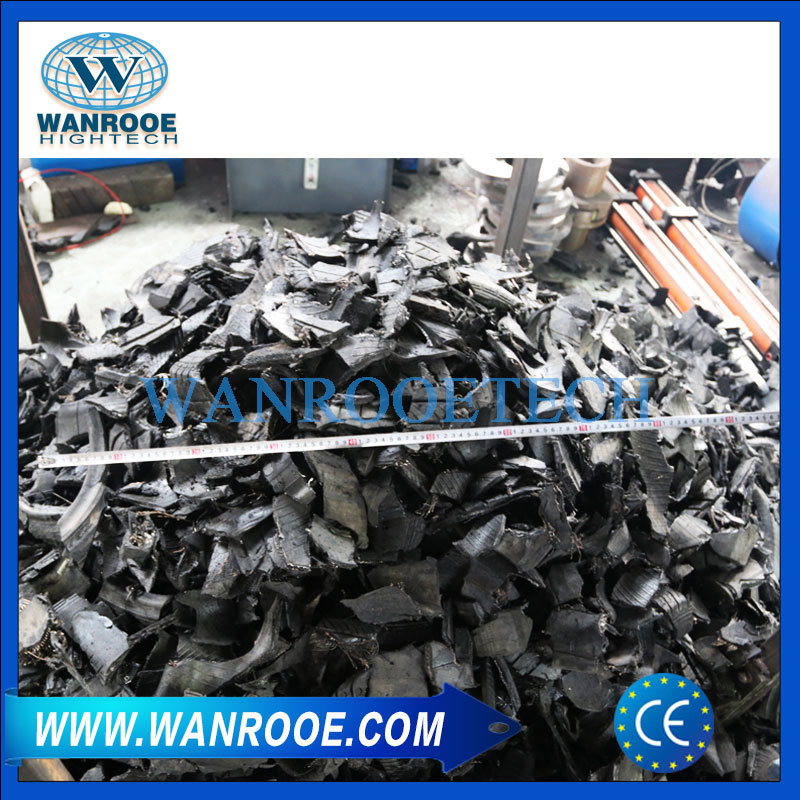 High Capacity Scrap Metal/ Waste Tyre Recycling Double Shaft Shredder