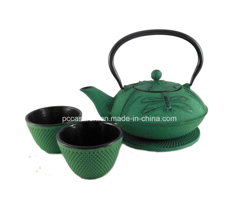 Costomer Design Cast Iron Tea Kettle 0.8L