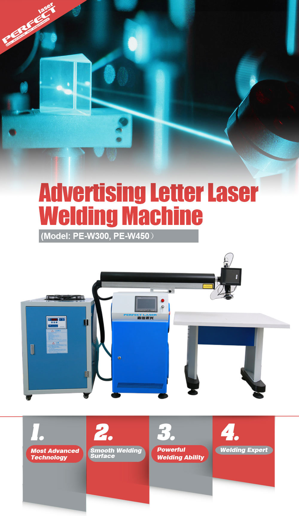 Metal Strips Channel Letter Laser Welding Machine