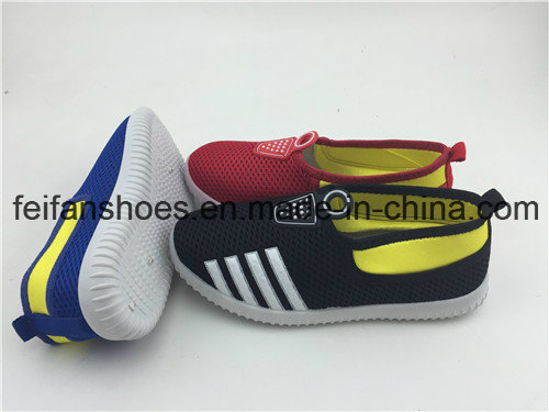 2016 New Arrivel Children Slip-on Canvas Injection Shoes with Plenty Colors