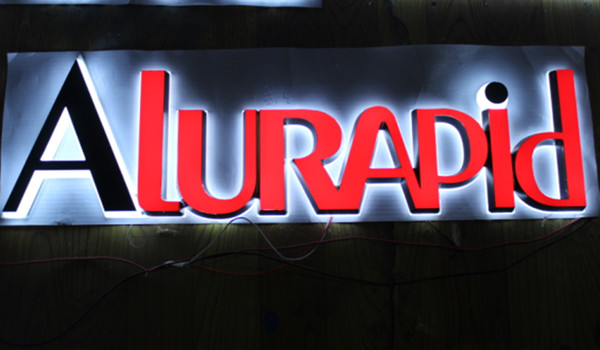 LED Front Lit Acrylic Channel Letter Signs for Shop