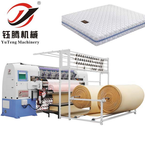 Computerized Mattress Quitling Machine