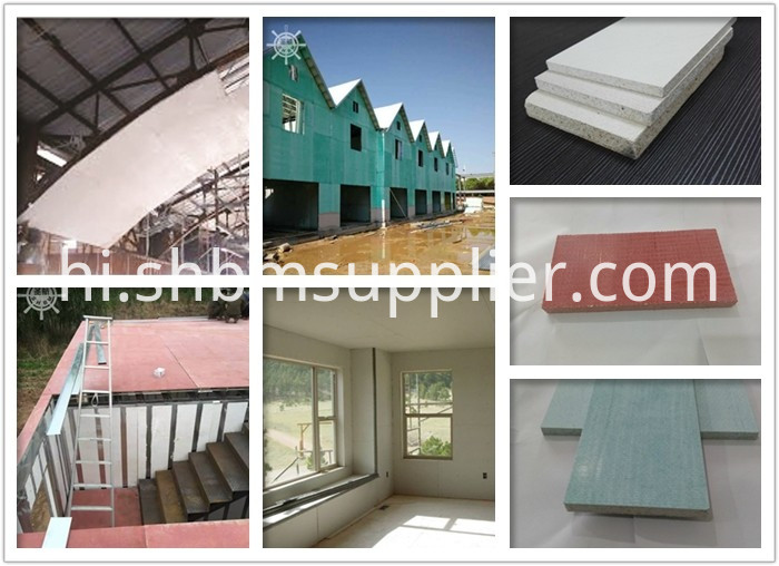 Non-asbesots Magnesium Oxide Board