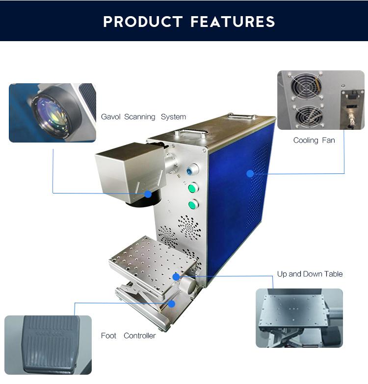 Fiber Laser Marking Machine From Standard Chinese Manufacturer