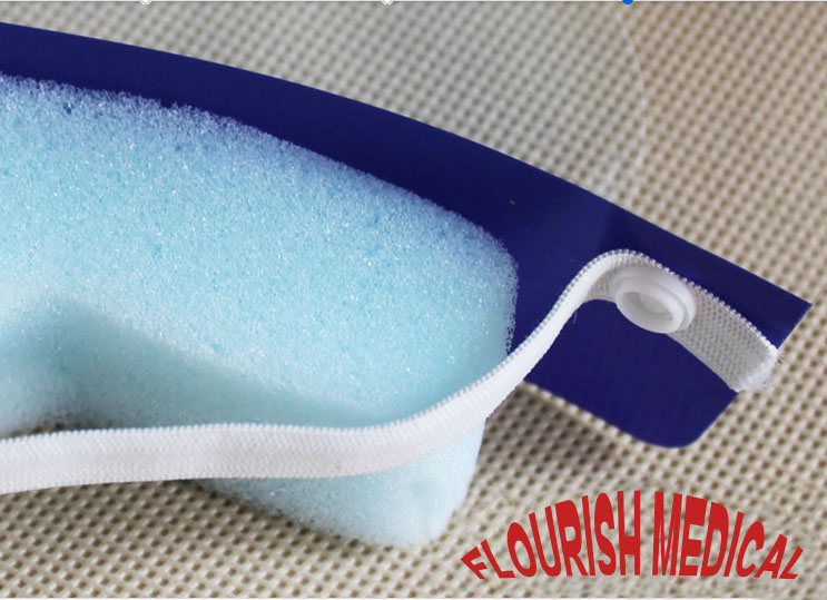 Splash Protection Disposable Anti-Fog Face Shield for Surgery Use