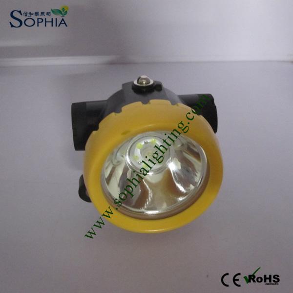 2200mAh Waterproof Ex-Proof Cordless LED Mining Light