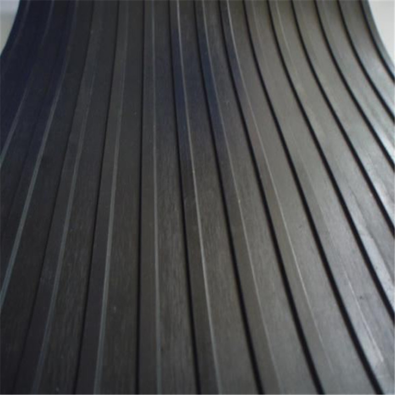 High Quality Wide Ribbed Anti Slip Rubber Sheet Rubber Flooring