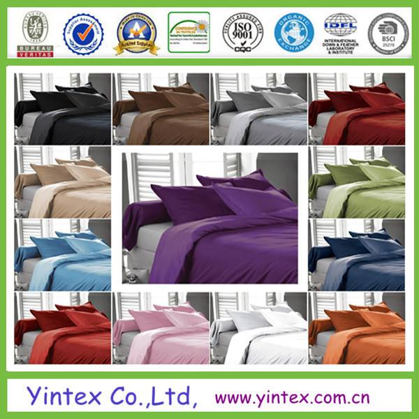 Colorful Desgin 100% Cotton Bed Sheet