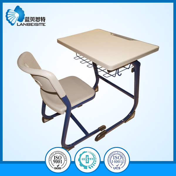 School Desk and Chair with Modern Design