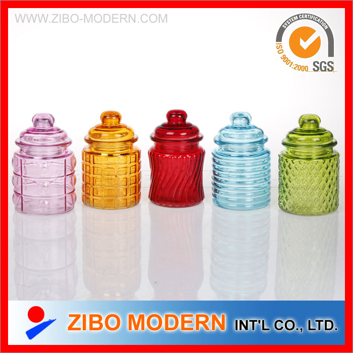 Mini Glass Jar Small Glass Jar with Lid