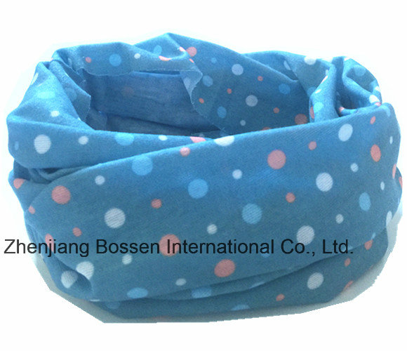 OEM Produce Customized Logo Printed Promotional Polyester Tubular Buff Headband