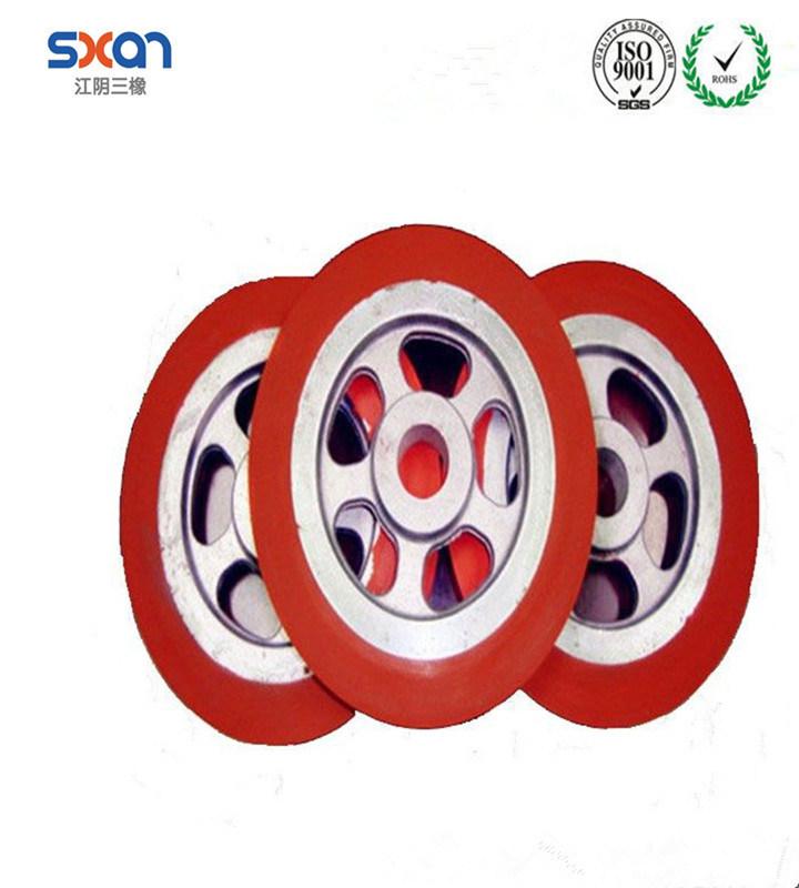 Custom Silicone Rubber Wheel, Rubber Roller