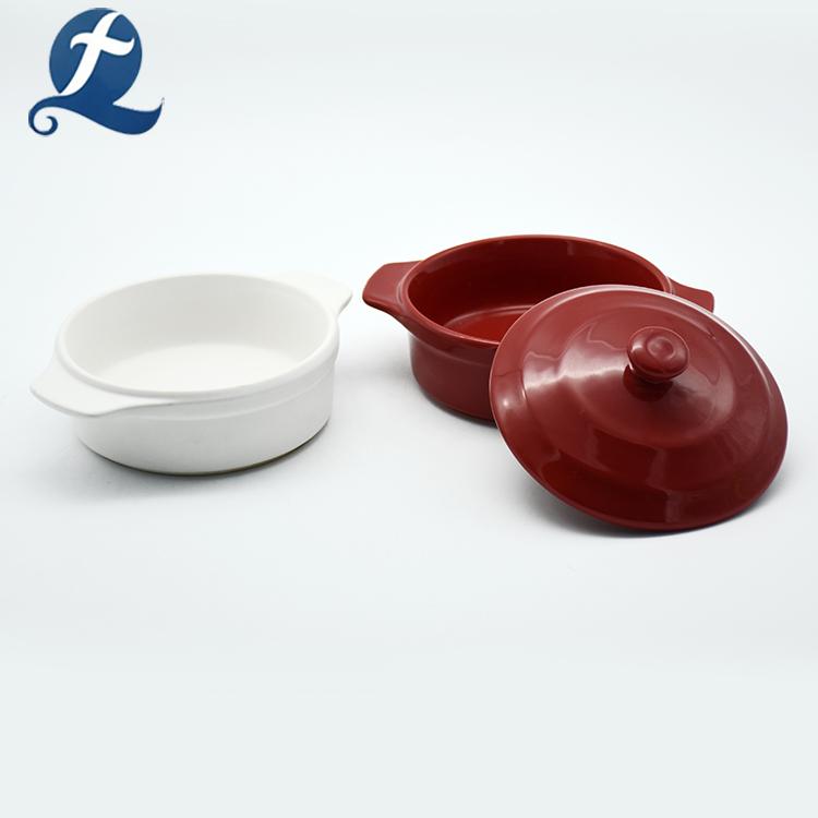 Color Glazed Casserole