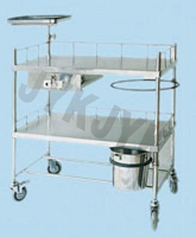 Stainless Steel Medicine Trolley