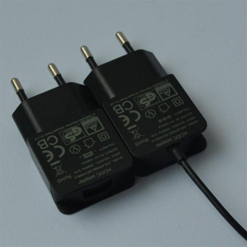 EU Plug 7.5V 800mA/12V 500mA AC/DC Adapter