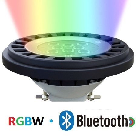 Waterproof Bluetooth RGBW LED PAR36 Spotlight with IP67