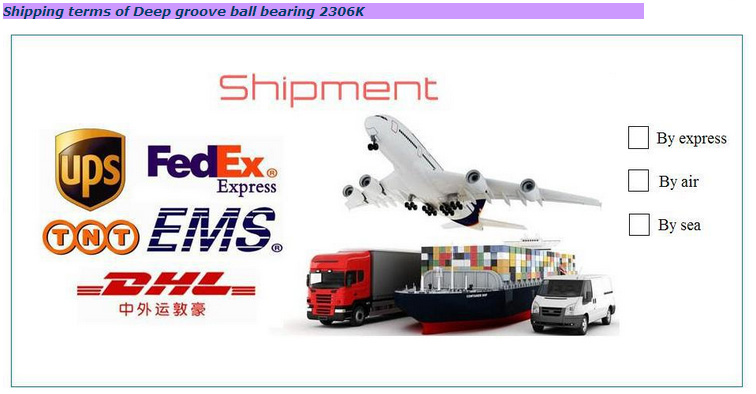 1211 1219 1201 2301 2306k Self Aligning Ball Bearings