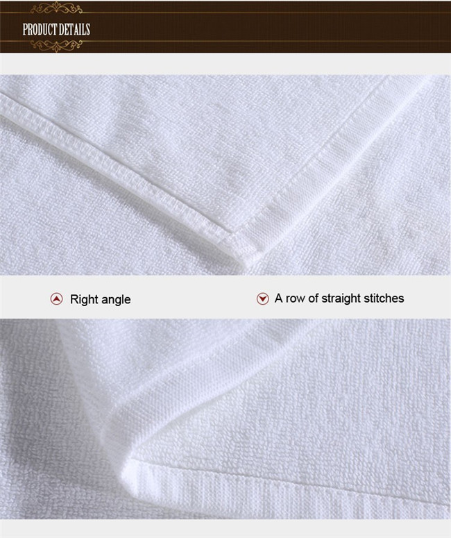 Egyptian Cotton Disposable Shower Towel (WST-2016011)