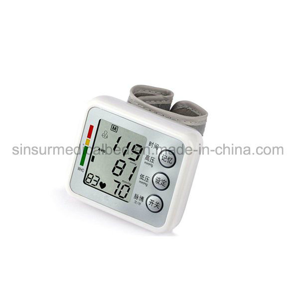 Wrist Use Electronic Blood Pressure Monitor