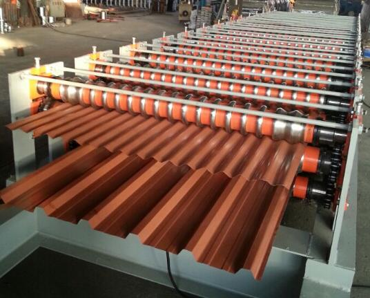Double Layer Roll Forming Machine/ Ibr Roof Panel Roll Forming Machine
