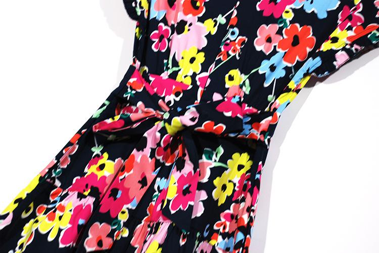 Comfortable Printing Dress