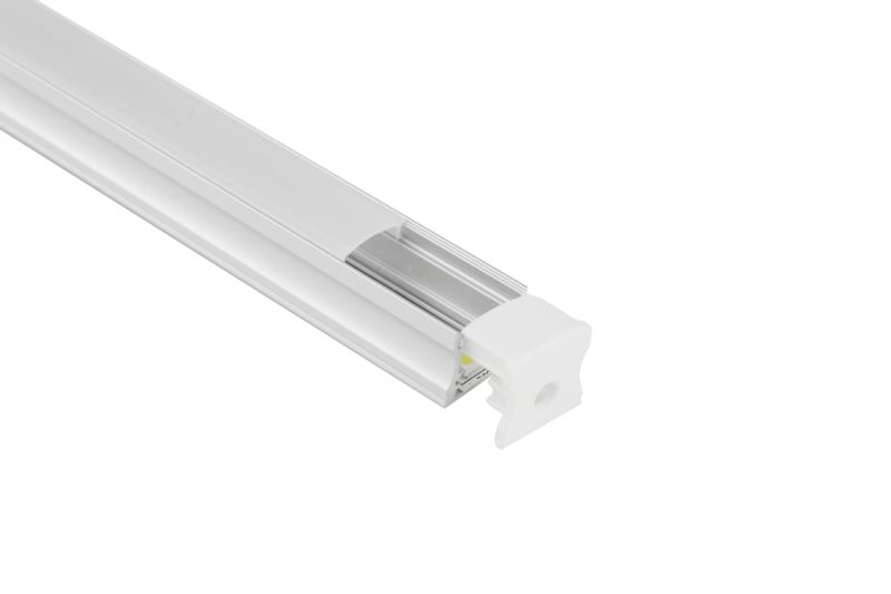 with PC Cover Tyoe U LED Aluminum Profile
