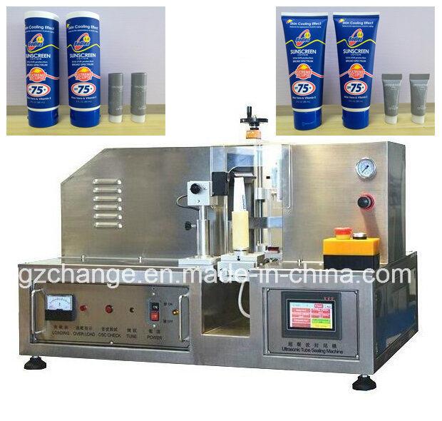 Ultrasonic HDPE LDPE Plastic Tubes Sealing Machine