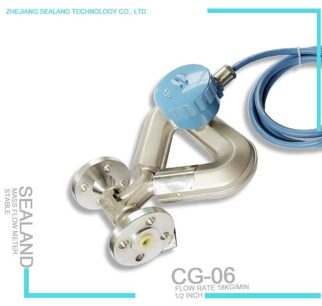 Coriolis Mass Flow Meter for Gas/ Liquid / Surrly